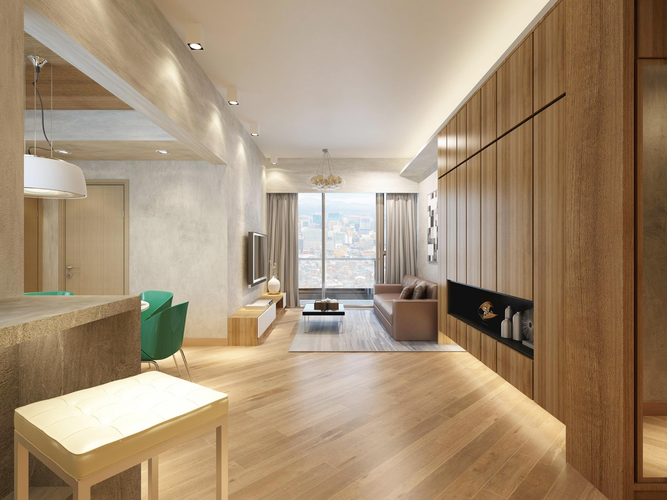Interior Design. Living_View03. The Wings IIIA